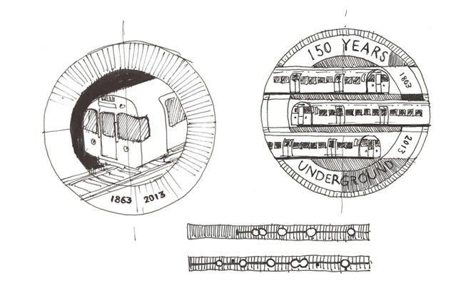 barber osgerby london underground coin 2
